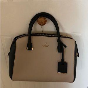 Adorable 2-tone Kate Spade satchel bag